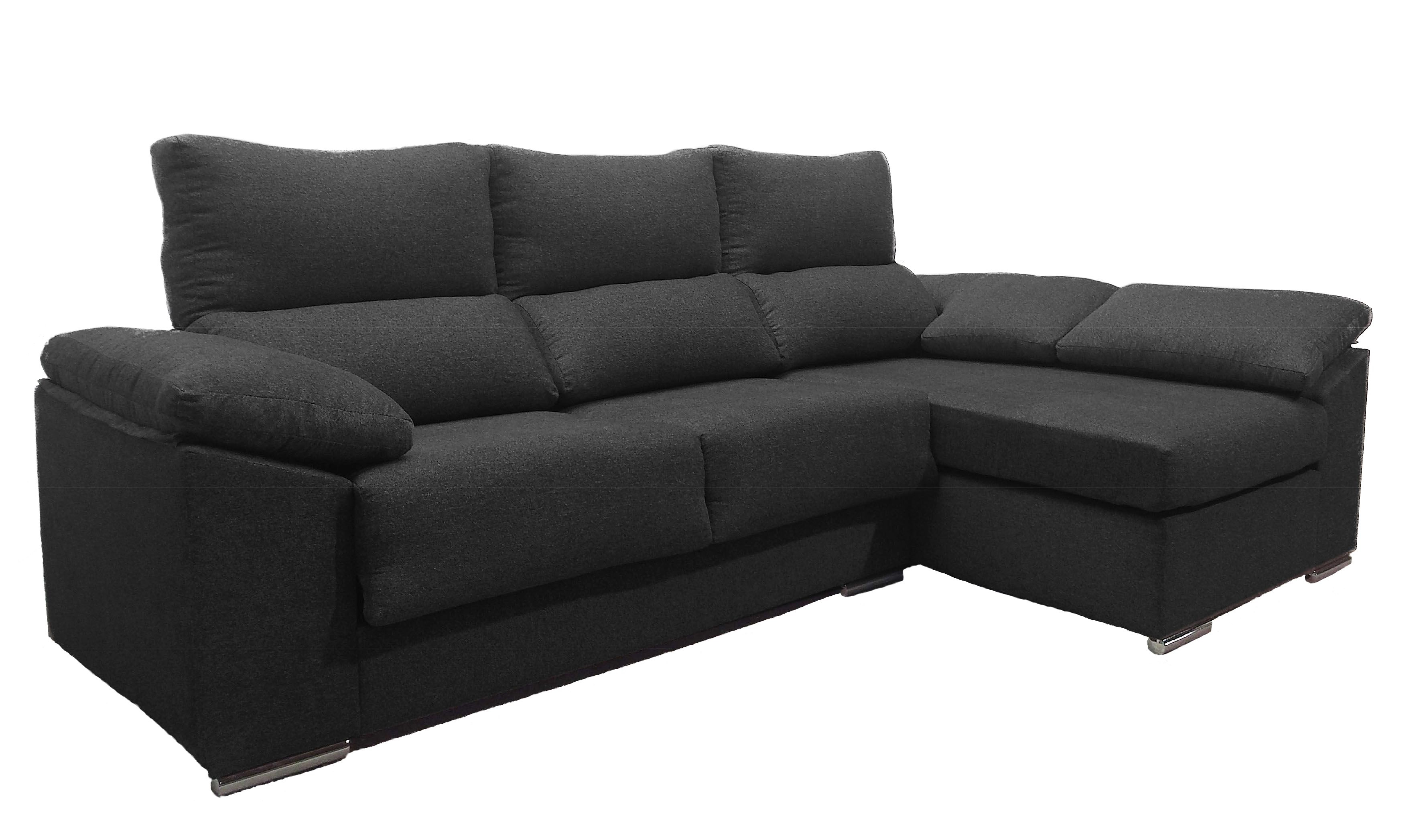 Chaise longue sofa baratos for Sofa piel chaise longue