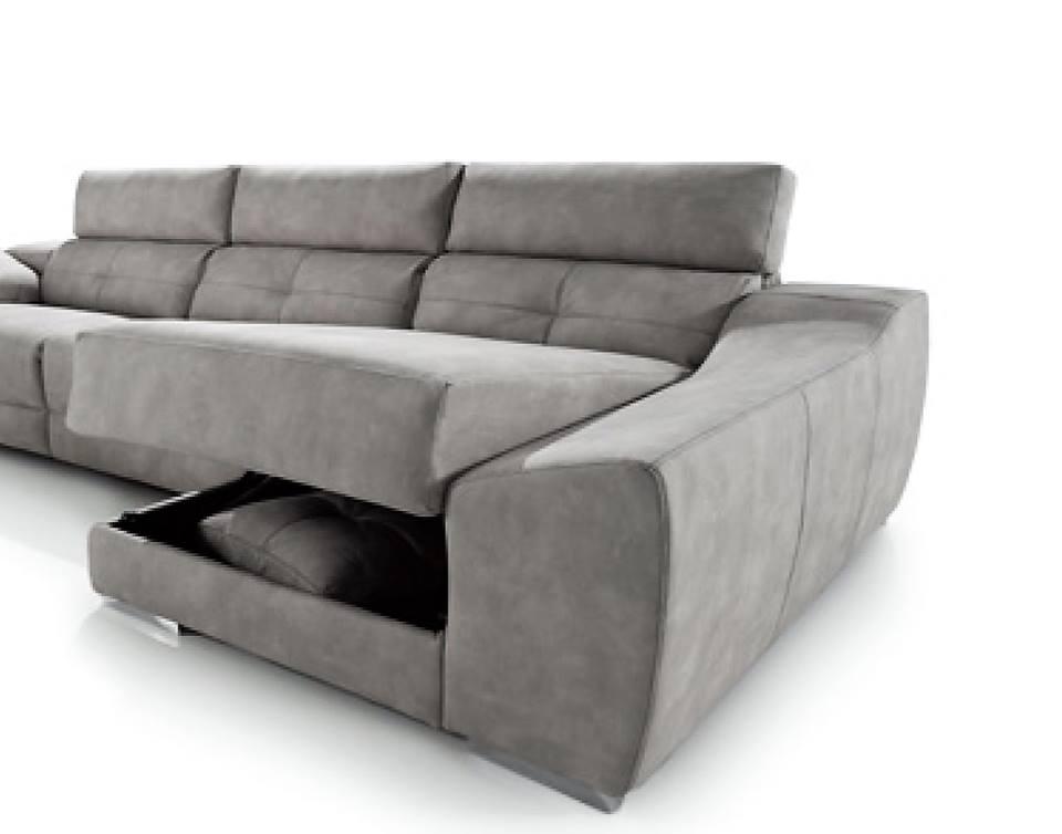 Sofa chaiselongue comodos almeria 3 comodos almer a tu for Sofas comodos y baratos